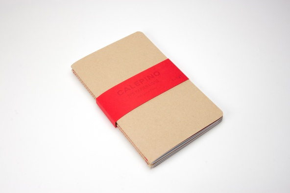 Large ruled Calepino notebook
